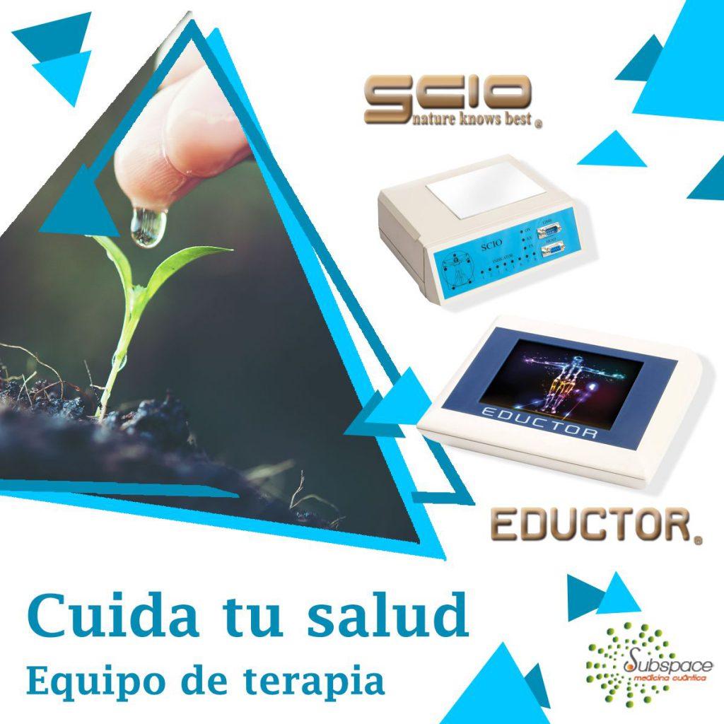 Cuida tu salud con el equipo terapéutico SCIO y EDUCTOR