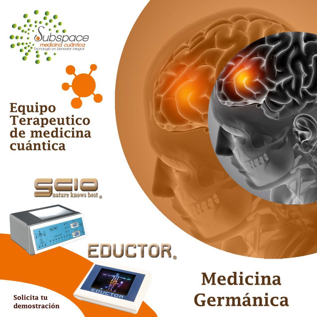 Equipo terapeutico de medicina germanica, Equipo terapeutico biofeedback, Quantum balance, medicina cuántica, SCIO y EDUCTOR