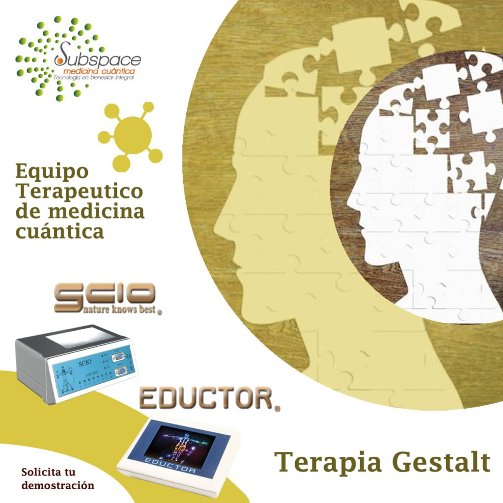 Equipo terapeutico de terapia gestalt, Equipo terapeutico biofeedback, Quantum balance, medicina cuántica, SCIO y EDUCTOR