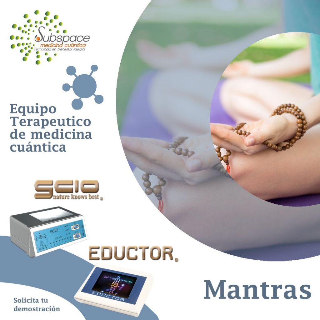 Mantras, Equipo terapeutico biofeedback, Quantum balance,  Rezos, mantras y espiritualidad, medicina cuántica, SCIO y SCIO