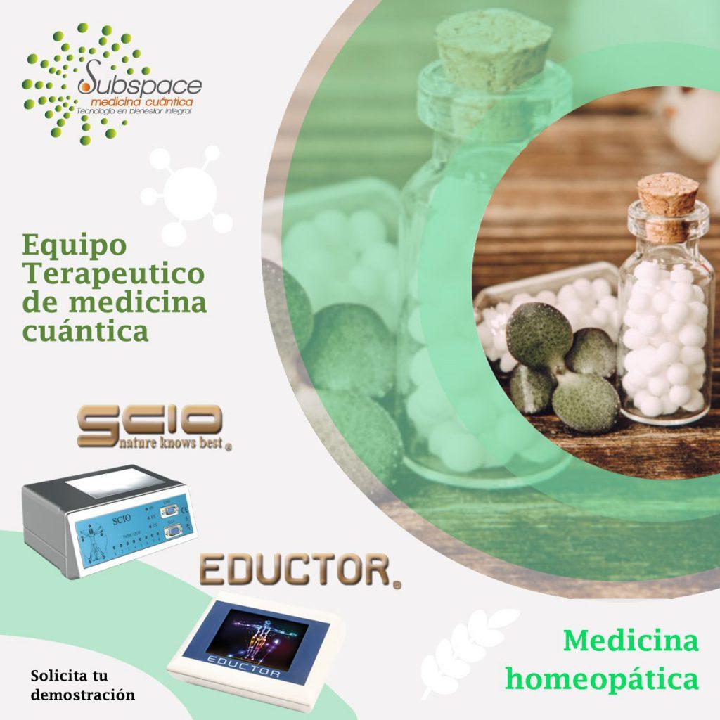 Medicina Homeopática Equipo terapeutico biofeedback, medicina cuántica, SCIO y EDUCTOR, quntum balance, biofeedback