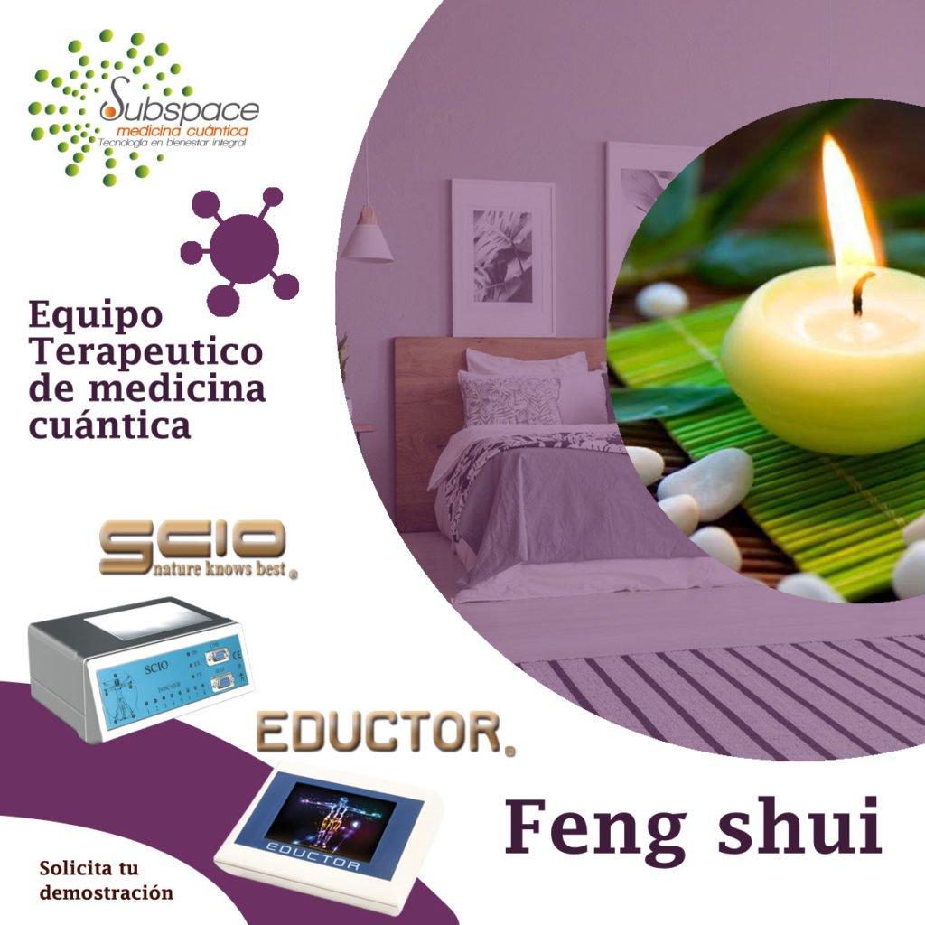 Equipo terapeutico de feng shui, Equipo terapeutico biofeedback, Quantum balance, medicina cuántica, SCIO y EDUCTOR