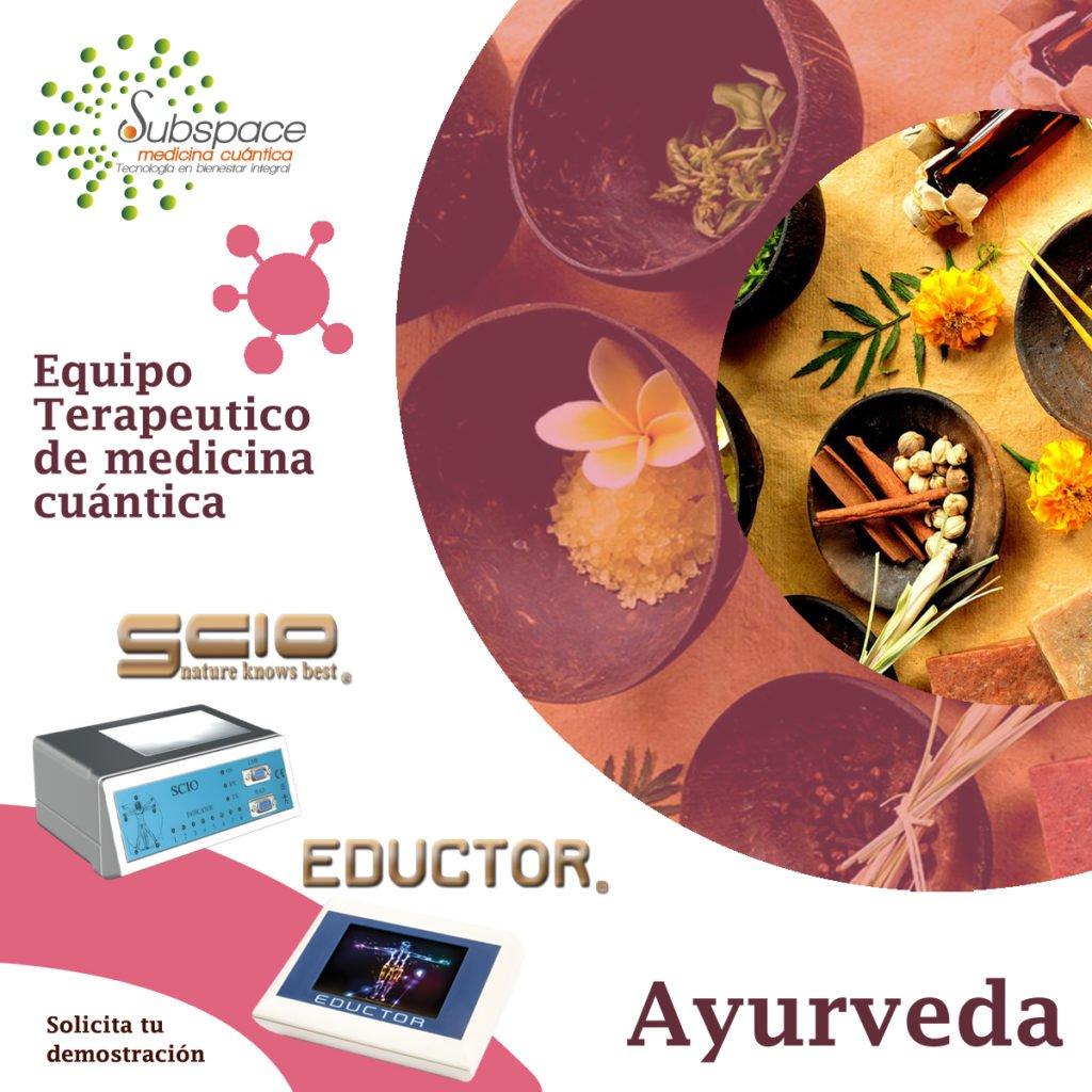 equipo terapeutico de ayurveda, Equipo terapeutico biofeedback, Quantum balance, medicina cuántica, SCIO y EDUCTOR