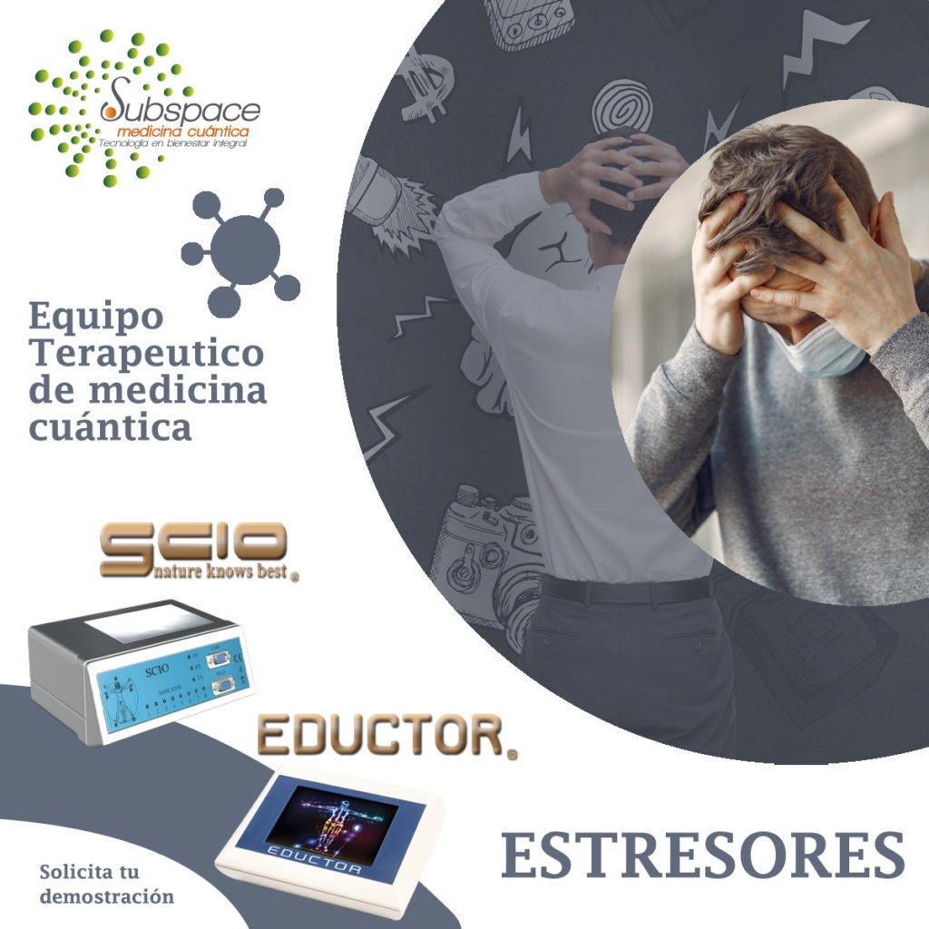 equipo terapeutico contra los estresores, Equipo terapeutico biofeedback, Quantum balance, medicina cuántica, SCIO y EDUCTOR, blog terapeutico