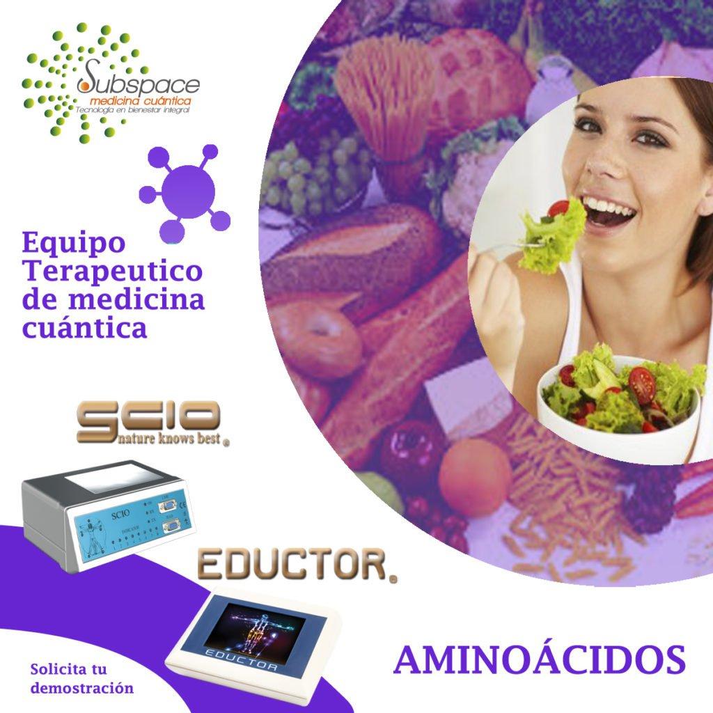 Equipo terapeutico que ayuda a los aminoacidos, Equipo terapeutico biofeedback, Quantum balance, medicina cuántica, SCIO y EDUCTOR, blog terapeutico