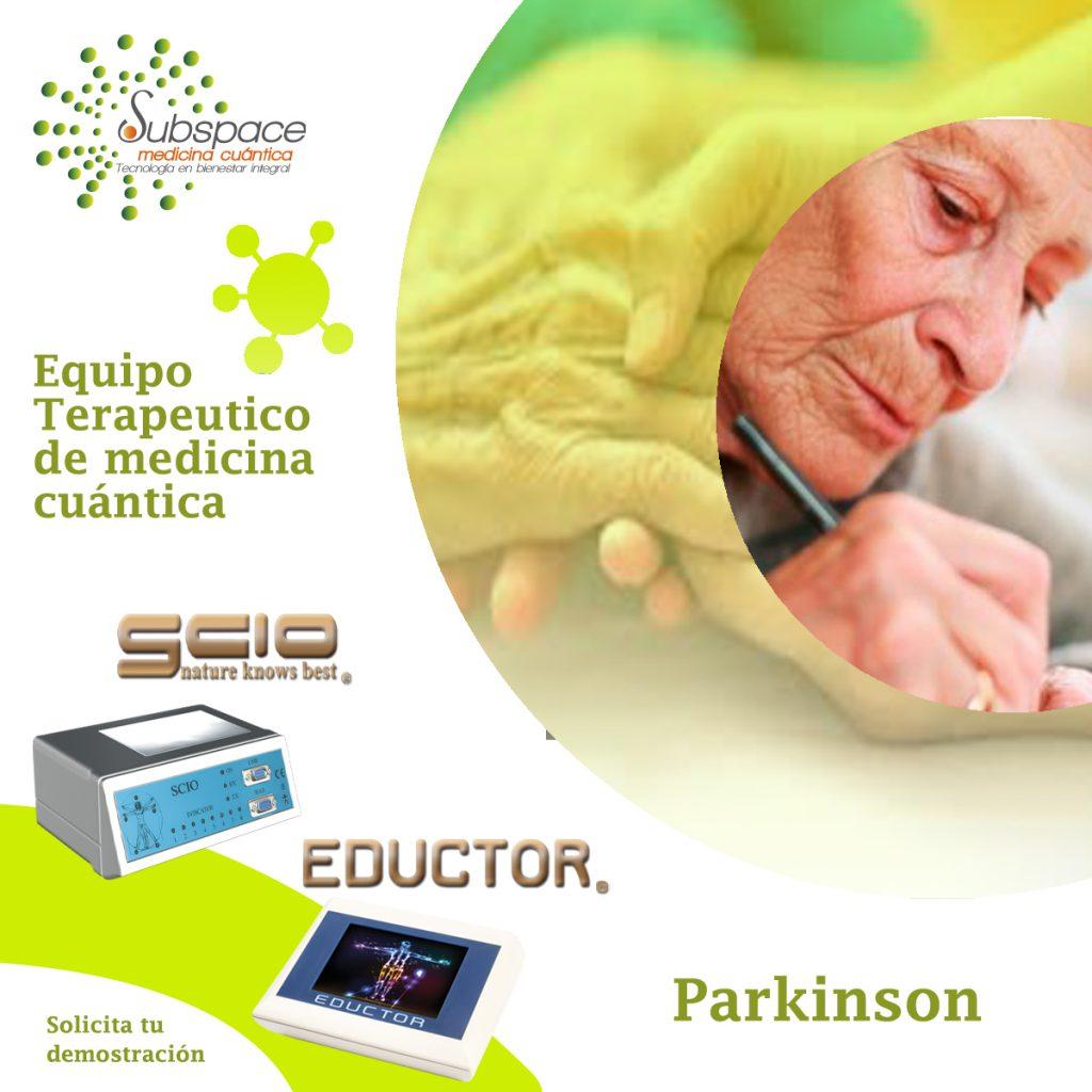 equipo terapeutico contra el parkinson, Equipo terapeutico biofeedback, Quantum balance, medicina cuántica, SCIO y EDUCTOR, blog terapeutico biofeedback