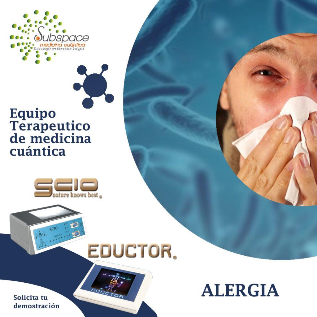 equipo terapeutico contra las alergias, terapeutico biofeedback, Quantum balance, medicina cuántica, SCIO y EDUCTOR, blog terapeutico biofeedback scio