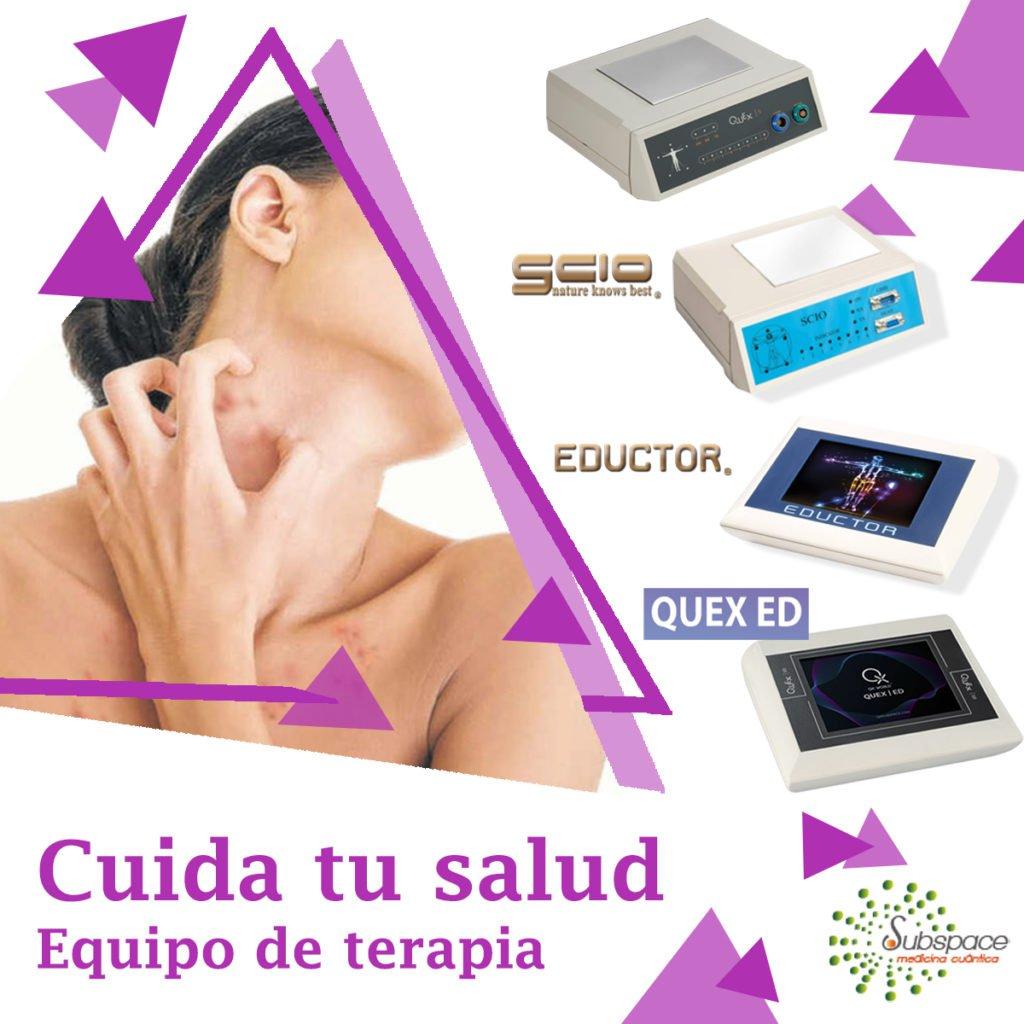 cuida tu salud de la dermatitis, terapeutico biofeedback, Quantum balance, medicina cuántica, SCIO y EDUCTOR QUEX S, QUEX ED, blog terapeutico biofeedback scio, blog terapia