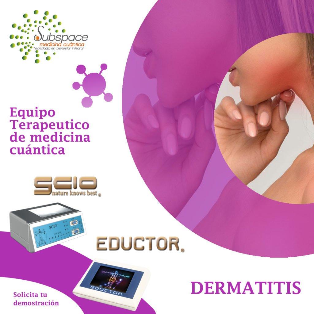 equipo terapeutico contra la dermatitis, terapeutico biofeedback, Quantum balance, medicina cuántica, SCIO y EDUCTOR QUEX S, QUEX ED, blog terapeutico biofeedback scio, blofeedback