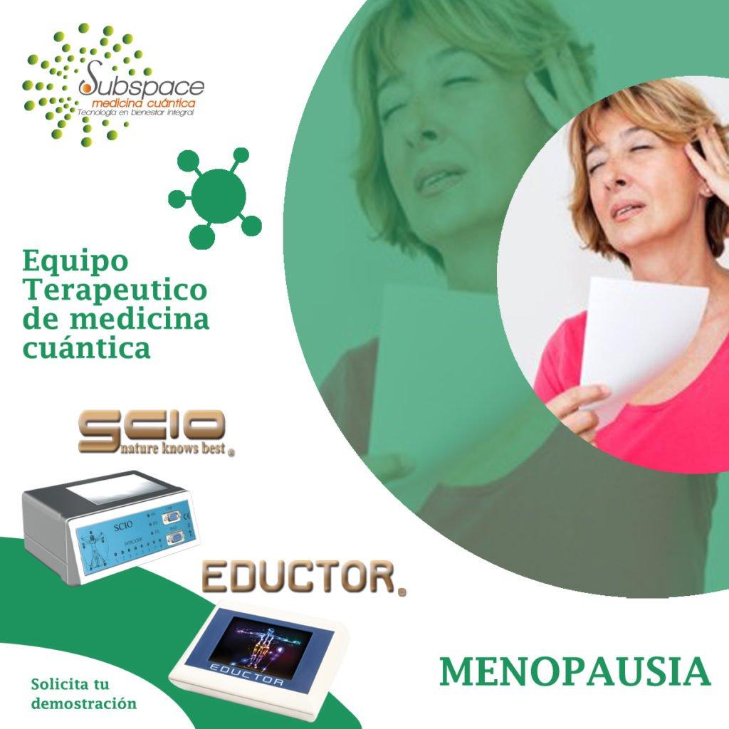 equipo terapeutico de menopausia, terapeutico biofeedback, Quantum balance, medicina cuántica, SCIO y EDUCTOR QUEX S, QUEX ED, blog terapeutico biofeedback scio, blog