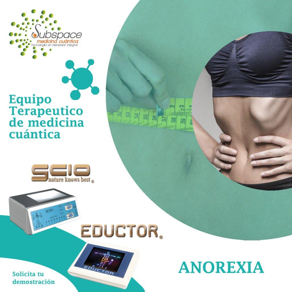 equipo terapéutico de anorexia, scio, eductor, quex s, quex ed, biofeedback, quantum balance, terapias alternativas